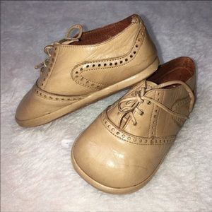 Other - HANDMADE INFANT Leather Loafers - Sz 4-5